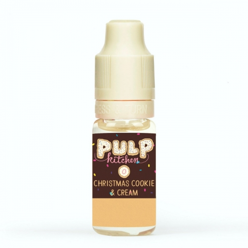 pulp kitchen christmas cookie cream 10ml 0mg