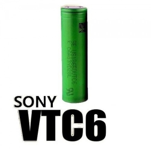 Sony VTC6 18650 30A US18650VTC6 High Drain Flat Top Battery 81440.1478100515.500.500