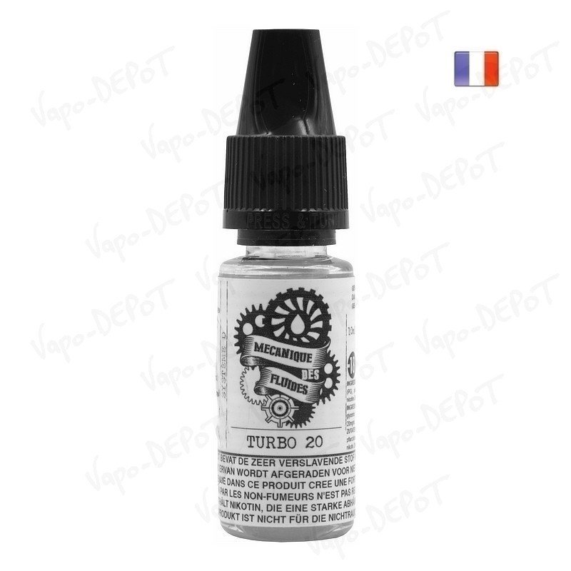 booster nicotine mecanique des fluides 20 mgml 10 ml