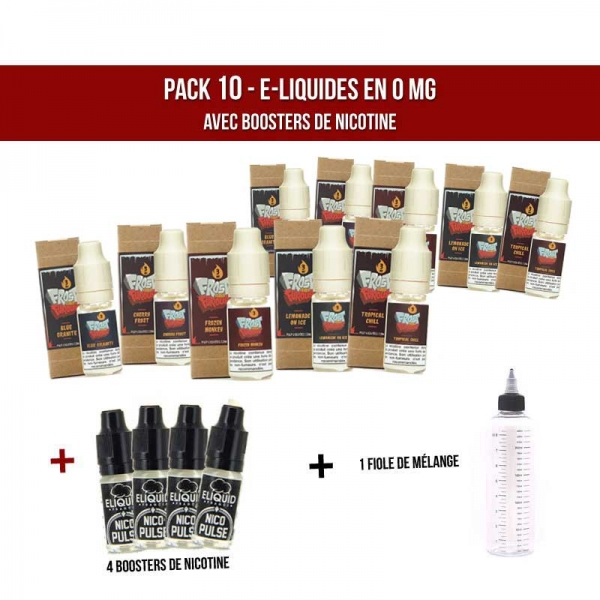 avec nicotine pack 10 frost