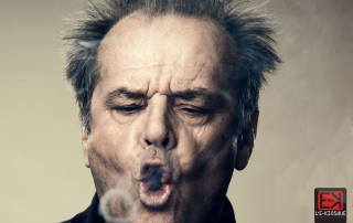 Jack Nicholson Smoking vaping tricks vape e kiosque